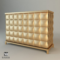 3d baker rystobal 3774 chest model