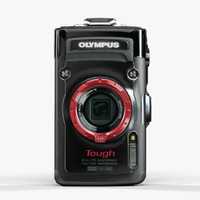 olympus stylus tough tg-2 3d model