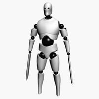 3d blade robot