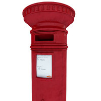 red royal mail london 3d c4d