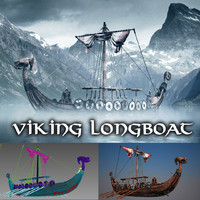 viking version 3d model