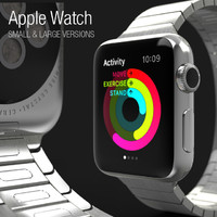 3d apple watch - model