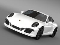 3ds max porsche 911 carrera gts