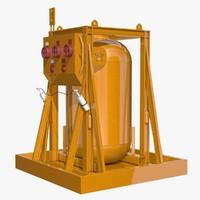 c4d industrial element