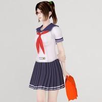 max japanese girl natsumi school