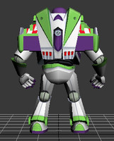 3d model buzz light year
