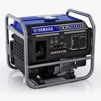 3d model inverter yamaha ef2800i