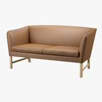 3d model sofa ole wanscher