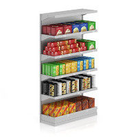 supermarket shelf cookies 3d max