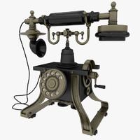 3dsmax antique phone