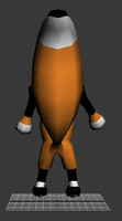 toon fox 3d max