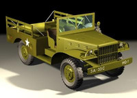 jeep transport 3d max