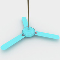 ceiling fan obj
