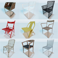 contemporary modern chairs vol 1 3ds