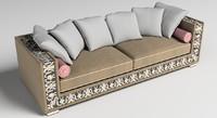 3d model sofa italian furniture