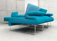 3dsmax modular sofa