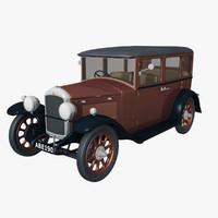 3d model of hillman 14 sized