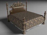 3d bed italian furniture