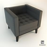 3d max eichholtz corbusier armchair