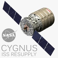 3ds max cygnus resupply iss