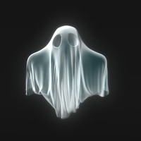 3d little ghost model