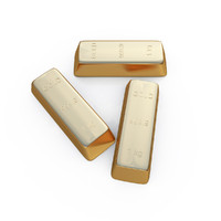 3d 3ds gold bar