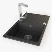 Boreno Kitchen sink with faucet