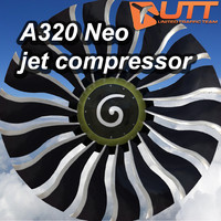 3d airbus 320 jet compressor model