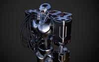 3d model robot designed