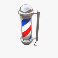 3d barber pole