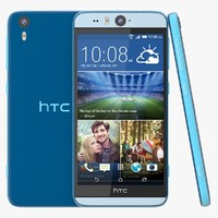 3d c4d htc desire eye blue