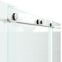 sliding glass door 3d obj
