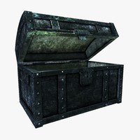 old iron warchest 3d obj