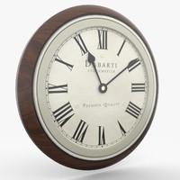 wall clock 3D models