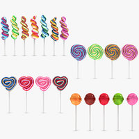 3ds lollipop set