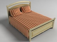 bed italian upholstered max