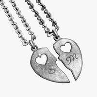 heart necklace 3ds