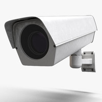 industrial camera cctv 3d max