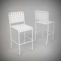 3d allu 129 chair paola model
