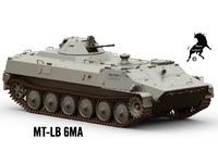 mt-lb 6ma 3d model