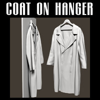 3ds max 2 coat hanger
