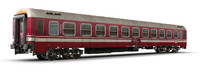 3d model of passenger car
