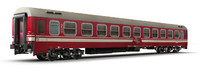 3d passenger car passanger model