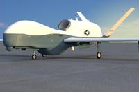 mc-4q triton unmanned drone c4d