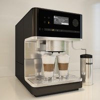 3d miele cm 6300 coffee machine model