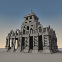 Ancient Fantasy Building 001
