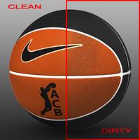 Basketball ball bicolor