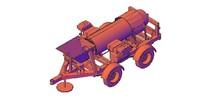 dxf gold trommel 2 axles