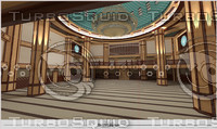 3ds max interior scene mosque