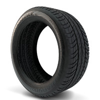 3d goodyear ultragrip tires model